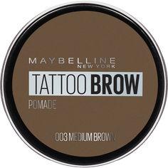 Акция на Помадка для бровей Maybelline New York Tatto Brow оттенок 003 Светло-коричневый 2 г (3600531516734) от Rozetka