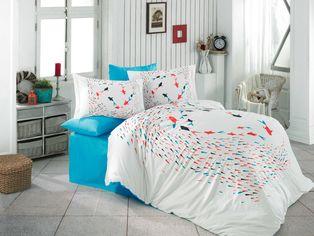 Акция на Комплект постельного белья Hobby Poplin Delfina 160х220 (8698499144750) от Rozetka