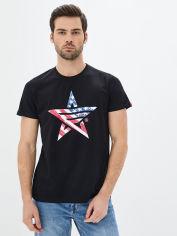 Акция на Мужская футболка Airboss USA L Black (2000000001630_A) от Rozetka