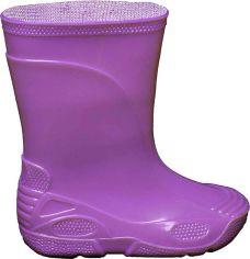 Акция на Резиновые сапоги OLDCOM Vidid 21-22 Фиолетовые (4841347011078) от Rozetka