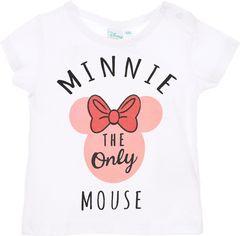 Акция на Футболка Disney SE0155 Minnie 81 см White (3609083410262) от Rozetka
