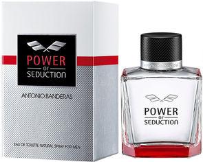 Акция на Туалетная вода для мужчин Antonio Banderas Power of Seduction 50 мл (8411061917510) от Rozetka