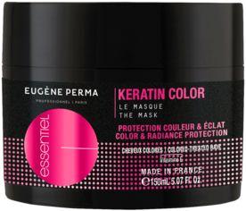 Акция на Маска Eugene Perma Essentiel Кератин для окрашенных волос 150 мл (3140100380804) от Rozetka