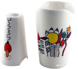 Акция на Набор из вазы и подсвечника BergHOFF декоративный (3705101) от Rozetka