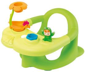 Акция на Стульчик для купания Smoby Cotoons с игровой панелью Зеленый (110615) (3032161106151) от Rozetka