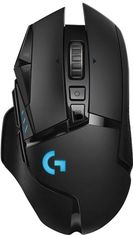 Акция на Мышь Logitech G502 Lightspeed Wireless Black (910-005567) от Rozetka