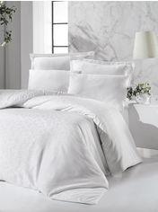 Акция на Комплект постельного белья Victoria Deluxe Jacquard Sateen Rimma 200х220 (2200000548832) от Rozetka