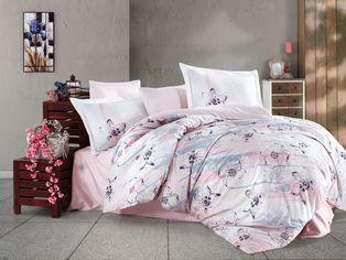 Акция на Комплект постельного белья Hobby Exclusive Sateen Brisha 200х220 (8698499144910) от Rozetka