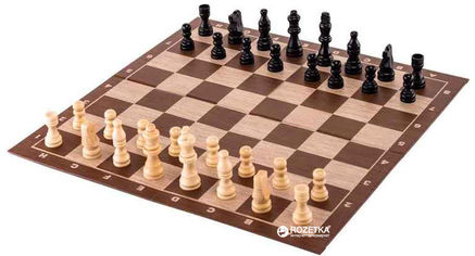 Акция на Настольная игра Spin Master Games Шахматы с деревянными фигурами (SM98367/6033313) от Rozetka