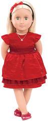 Акция на Набор с куклой Our Generation Джинджер с одеждой и аксессуарами  46  см (BD31045Z) от Rozetka