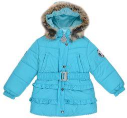 Акция на Зимняя куртка Lenne Monika 19335/635 122 см Бирюзовая (4741578403386) от Rozetka