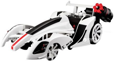 Акция на Автомодель-трансформер на р/у Maisto Twist and Shoot Белый (81177 white) от Rozetka