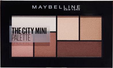 Акция на Палитра теней для век Maybelline New York The City Kits Mini 480 Матовые коричневые оттенки 6 г (3600531548766) от Rozetka