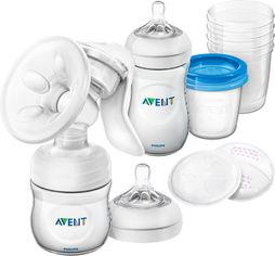 Акция на Набор для сцеживания молока Philips Avent Comfort Breastfeeding Support Kit (SCD221/00) (8710103827825) от Rozetka