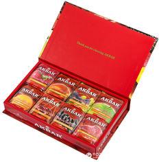 Чай Akbar Fruit Fiesta Подарочный набор в индивидуальных конвертиках из фольги 80х2 г (5014176001537) от Rozetka