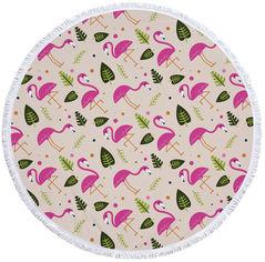 Пляжный коврик Mindo Летний Фламинго 150 см Разноцветный (md17092) от Rozetka