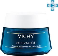 Акция на Крем-уход Vichy Neovadiol ночной антивозрaстной с компенсирующим эффектом для кожи всех типов 50 мл (3337875483940) от Rozetka