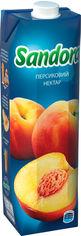 Упаковка нектара Sandora Персиковый 0.95 л х 10 шт (4823063112956) от Rozetka
