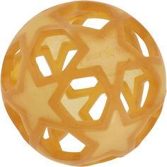 Акция на Прорезыватель Hevea Star Ball из натурального каучука Коричневый (5710087443151) от Rozetka