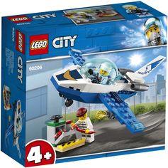 Конструктор LEGO City Воздушная полиция: патрульный самолёт 54 детали (60206) от Rozetka