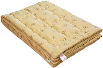 Акция на Одеяло шерстяное MirSon Gold Camel Hand Made 173 лето 140x205 см (2200000460691) от Rozetka