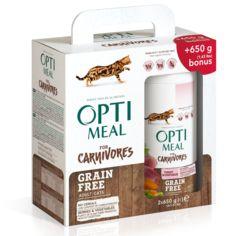 Акция на Упаковка сухого беззернового корма для взрослых кошек Optimeal с индюшкой и овощами 650 г 2 шт (4820215360944/4820215360937) от Rozetka