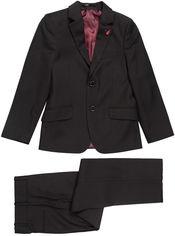 Акция на Костюм (пиджак + брюки) Vels PD26/1 BD3-2 7382_1 146 см 36 р Черный (ROZ6205116145) от Rozetka