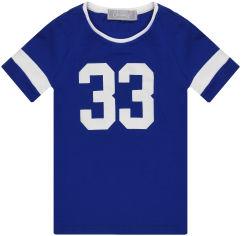 Футболка KidsCouture 90613335 116 см Синяя (2001000016372) от Rozetka