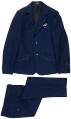 Акция на Костюм (пиджак + брюки) Lilus 217/2 мод 16Вхуст-1410 140 см 34 р Синий (ROZ6205091991) от Rozetka