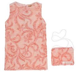 Акция на Сарафан + сумочка Wecan CANW18475 92 см Розовый с персиковым от Rozetka