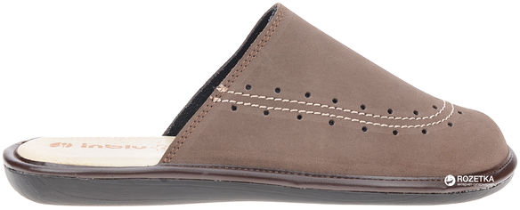 Комнатные тапочки Inblu TA-4X 40 Темно-коричневые от Rozetka