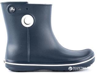 Акция на Резиновые сапоги Crocs Jaunt Shorty Boot 15769-410-W5 34-35 22.1 см Темно-синие (887350112139) от Rozetka