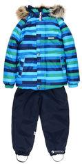 Акция на Зимний комплект (куртка + полукомбинезон) Lenne Frank 18318/2299 74 см Голубо-синий (4741578226039) от Rozetka