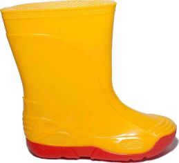 Резиновые сапоги OLDCOM Vivid 23/24 Желтые на красной подошве (4841347011146) от Rozetka