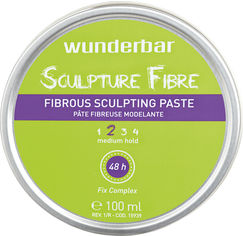 Акция на Паста для волос Wunderbar Sculpture Fibre Fibrous Sculpting Paste волокнистая скульптурная средней фиксации 100 мл (5499899069277) от Rozetka