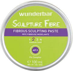 Паста для волос Wunderbar Sculpture Fibre Fibrous Sculpting Paste волокнистая скульптурная средней фиксации 100 мл (5499899069277) от Rozetka