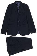 Акция на Костюм (пиджак + брюки) Новая форма 70 4.2 Tomas 134 см 28 р Синий (2000066939410) от Rozetka