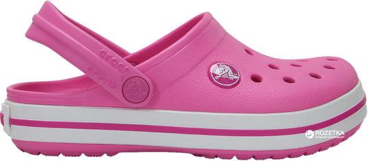 Сабо Crocs Kids Jibbitz Crocband Clog K 204537-6U9-C6 22-23 13.2 см Розовые (887350925449) от Rozetka