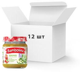 Акция на Упаковка пюре Bambolina Кабачок 100 г х 12 шт (4813163001984) от Rozetka