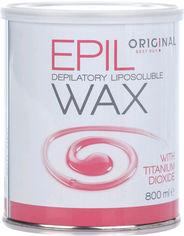 Акция на Воск для депиляции Original Best Buy Epil Wax жирорастворимый с титан-диоксидом для сухой и чувствительной кожи 800 мл (5412058185892) от Rozetka