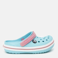 Акция на Кроксы Crocs Kids Jibbitz Crocband Clog K 204537-4S3-J1 32-33 20 см Голубые (887350984248) от Rozetka