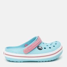 Сабо Crocs Kids Jibbitz Crocband Clog K 204537-4S3-J1 32-33 20 см Голубые (887350984248) от Rozetka