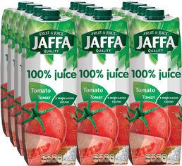 Акция на Упаковка сока Jaffa Томатный сок с солью 0.95 л х 12 шт (4820003684931_4820192261043) от Rozetka