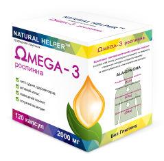 Акция на Жирные кислоты Natural Helper Omega 3 Природный помощник (4820187660011) от Rozetka