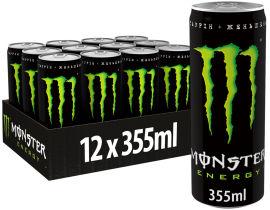 Акция на Упаковка безалкогольного энергетического сильногазированного напитка Monster Energy 355 мл х 12 банок (5060517886738) от Rozetka