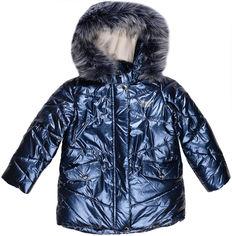 Акция на Зимняя куртка Evolution 33-ЗД-19 92 см Синяя (4823078565198) от Rozetka