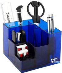 Акция на Настольный набор Axent Cube 9 предметов Синий (2106-02-A) от Rozetka
