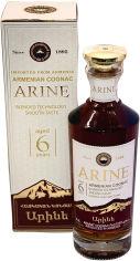 Акция на Бренди Арине 0.5 л 40% 6 лет выдержки в подарочной упаковке (4850001921547) от Rozetka