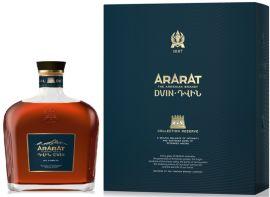 Акция на Бренди ARARAT Двин коллекционный 10 лет выдержки 0.7 л 50% в подарочной упаковке (4850001003861) от Rozetka