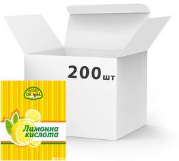 Акция на Упаковка лимонной кислоты Dr.IgeL 20 г х 200 шт (24820155170263) от Rozetka